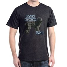 Black Russian Dad4 T-Shirt