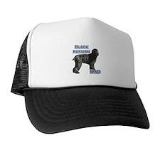 Black Russian Dad4 Trucker Hat