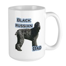 Black Russian Dad4 Mug