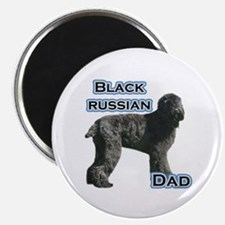 Black Russian Dad4 Magnet