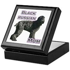 Black Russian Mom4 Keepsake Box