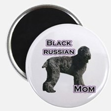 Black Russian Mom4 Magnet