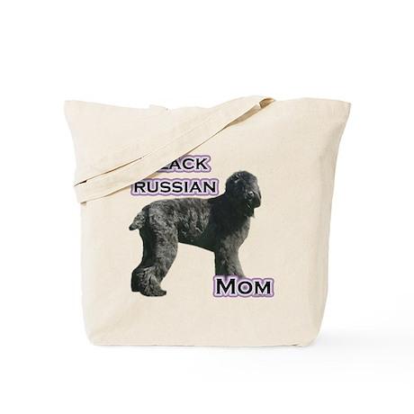 Black Russian Mom4 Tote Bag