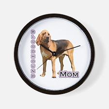 Bloodhound Mom4 Wall Clock