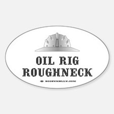 Roughneck Oval Decal