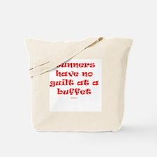No guilt at buffet RED Tote Bag