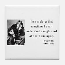 Oscar Wilde 13 Tile Coaster