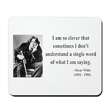 Oscar Wilde 13 Mousepad
