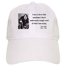 Oscar Wilde 13 Baseball Cap