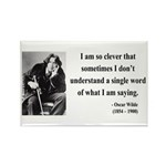 Oscar Wilde 13 Rectangle Magnet (100 pack)