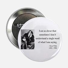 """Oscar Wilde 13 2.25"""" Button"""
