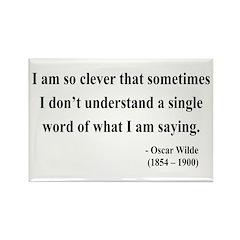 Oscar Wilde 13 Rectangle Magnet