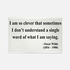 Oscar Wilde 13 Rectangle Magnet