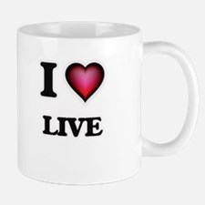 I Love Live Mugs