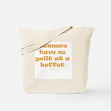 No guilt at buffet ORNG Tote Bag