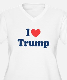 I Heart Trump Plus Size T-Shirt