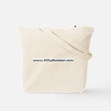 No guilt at buffet NAVY Tote Bag