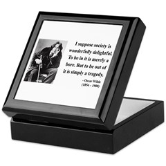 Oscar Wilde 15 Keepsake Box