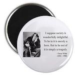 Oscar Wilde 15 Magnet