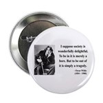 "Oscar Wilde 15 2.25"" Button"