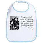 Oscar Wilde 15 Bib