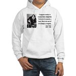 Oscar Wilde 15 Hooded Sweatshirt
