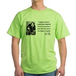 Oscar Wilde 15 Green T-Shirt