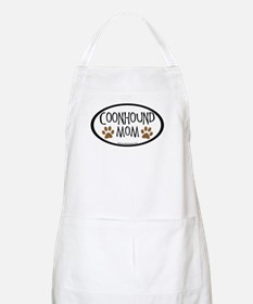 Coonhound Mom Oval BBQ Apron