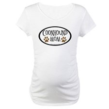 Coonhound Mom Oval Shirt