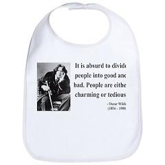 Oscar Wilde 16 Bib
