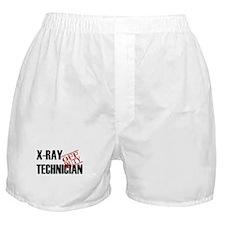 Off Duty X-Ray Technician Boxer Shorts
