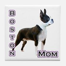 Boston Mom4 Tile Coaster