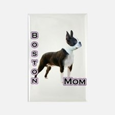 Boston Mom4 Rectangle Magnet
