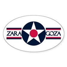 Zaragoza Air Base Oval Decal