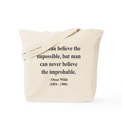 Oscar Wilde 18 Tote Bag