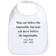 Oscar Wilde 18 Bib