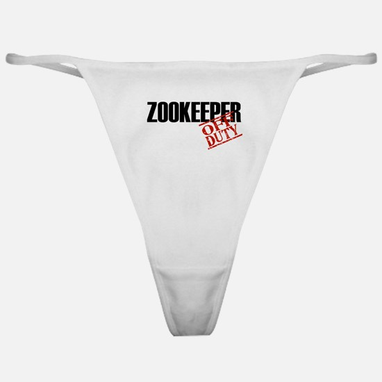 Off Duty Zookeeper Classic Thong
