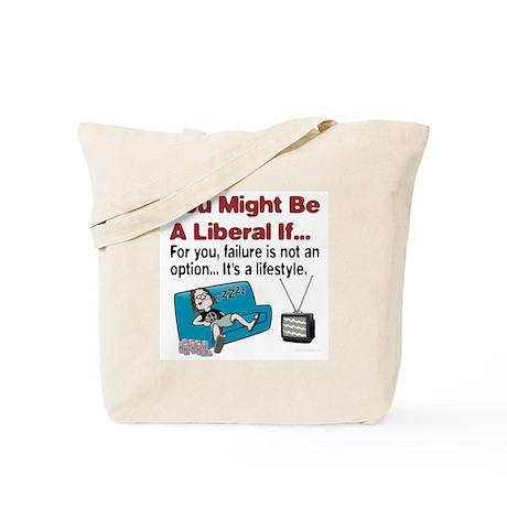 Liberal failure Tote Bag