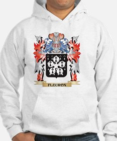 Fleuron Coat of Arms - Family Cr Hoodie