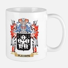 Fleuron Coat of Arms - Family Crest Mugs