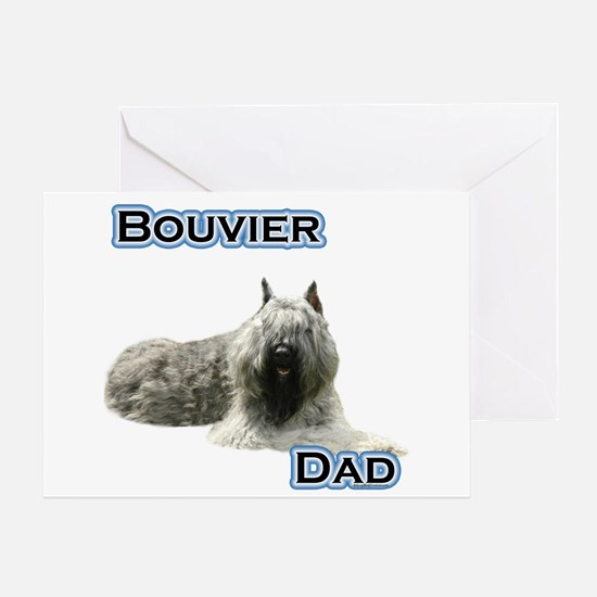 Bouvier Dad4 Greeting Card