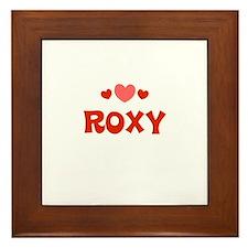 Roxy Framed Tile