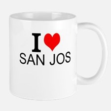 I Love San Jose Mugs