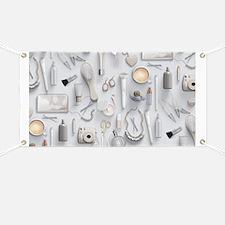 White Vanity Table Banner