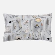 White Vanity Table Pillow Case