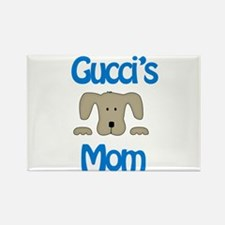 Gucci's Mom Rectangle Magnet