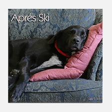 Apres Ski Tile Coaster