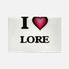 I Love Lore Magnets