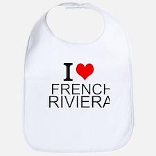 I Love French Riviera Bib