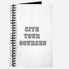 Cite Your Sources Journal